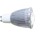 Lampada Led Dicroica 3W GU10 Branco Frio com lente
