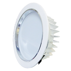 Lâmpada LED Embutida 18w Branco Quente Luxgen