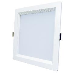 LED Embutido Quadrado 30w Branco Quente Luxgen