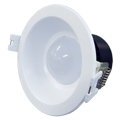Lâmpada LED Embutida LDWP 8W Branco Quente - Lente Leitosa Luxgen