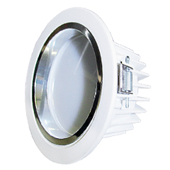 Lampada Led Embutida 5w Branco Quente Luxgen