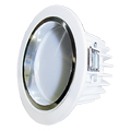 Lampada Led Embutida 7W Branco Quente Luxgen