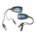Conversor Video 300m  e alimentação 250m par Trançado ativo CC